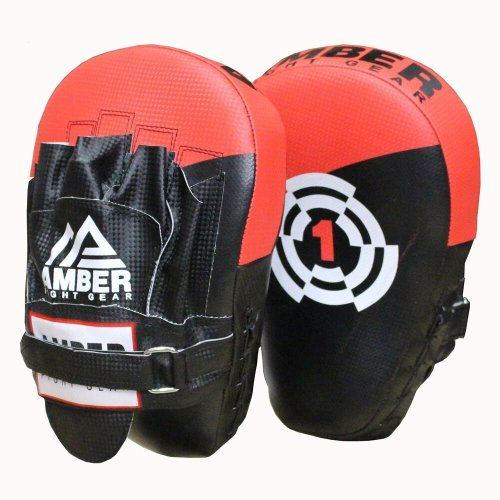 AFG Boxing Focus Mitts Sparring Training Punch Mitts Muay Thai Pads