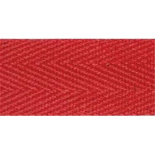 100% Cotton Twill Tape 1''X55yd-Red