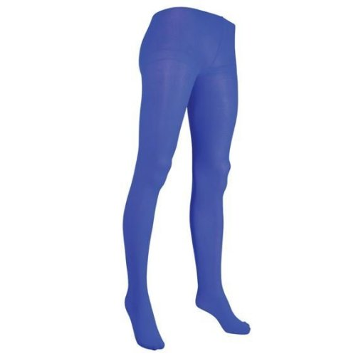 Blue Ladies Costume Tights - Fancy Dress Accessory Height 5510 -  tights blue ladies fancy dress accessory height 5510