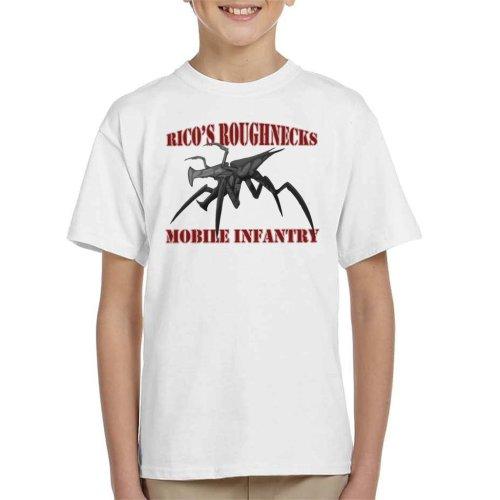 Ricos Roughnecks Arachnids Starship Troopers Kid's T-Shirt