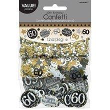 Gold Celebration 60th Confetti 34g -
