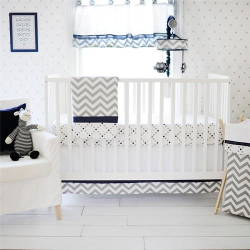 3 Piece Out of the Blue Crib Set
