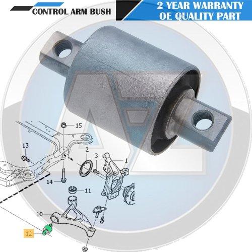 FOR VOLVO XC90 2002-2010 FRONT LOWER AXLE SUSPENSION WISHBONE CONTROL ARM BUSH