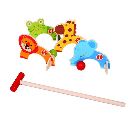 M.Y Royal Court Animal Croquet Game For Kids