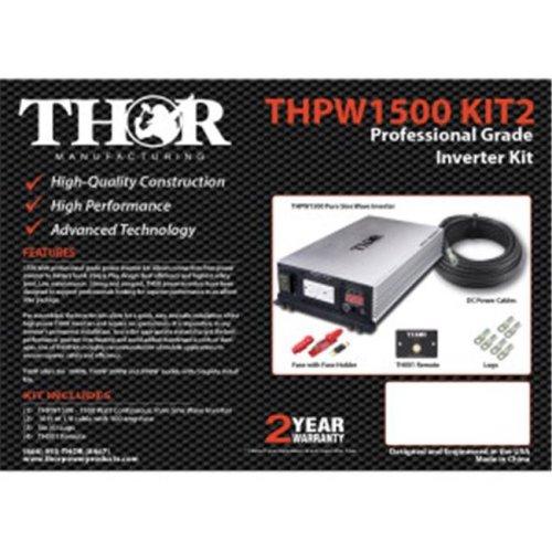 Thor THPW3000 12V 3000 watt Pure Sine Wave Inverter with USB 2.1