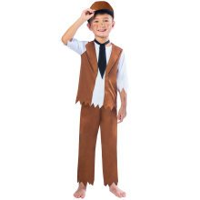 Kids Poor Victorian Boy Costume