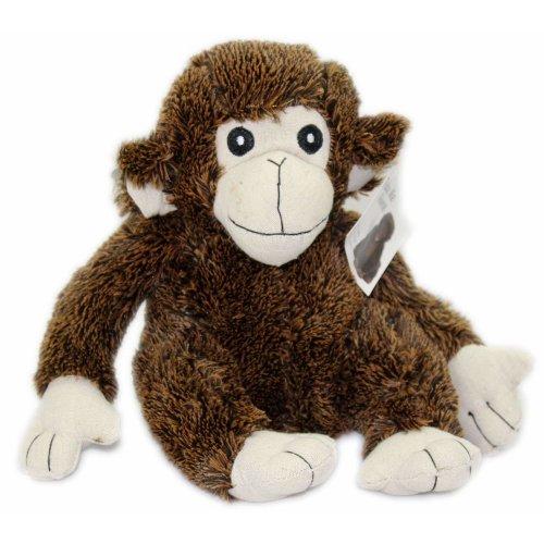 Fluffy Dark Brown Monkey Door Stop Stopper Heavy Filled Animal Weighted Doorstop
