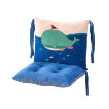 Cartoon Detachable Chair Cushions Fashion Strap Chair-Pads