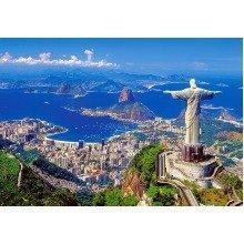 Csc102846 - Castorland Jigsaw 1000 Pc - Rio De Janeiro, Brazil
