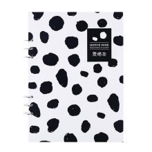110g Sketch Paper Loose Binder Paper Drawing Paper Blank 21.5x29.3cm Art Paper,D