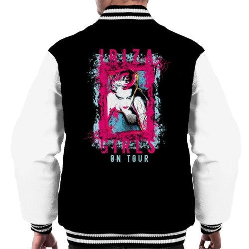Ibiza Girls On Tour Men's Varsity Jacket