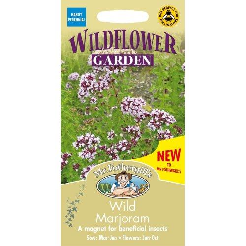 Mr Fothergills - Pictorial Packet - Wildflower - Wild Marjoram - 1000 Seeds