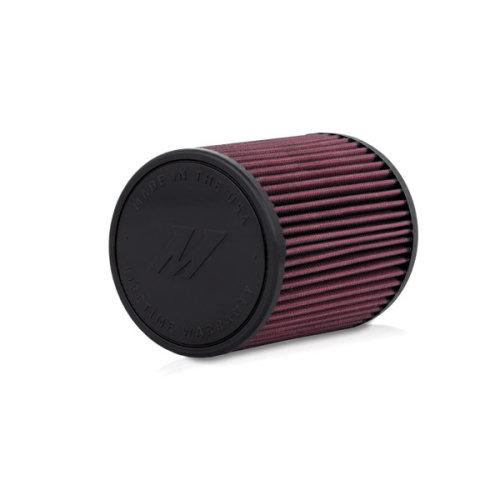 "Mishimoto MMAF-2757  Performance Air Filter, 2.75"" Inlet, 7"" Filter Length, Red"