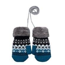 Beautiful Kids Gloves Warm Thicken Knit Mittens(5-12 Years)