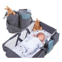 Delta Baby Travel | Multi-Use Changing Bag & Carrycot