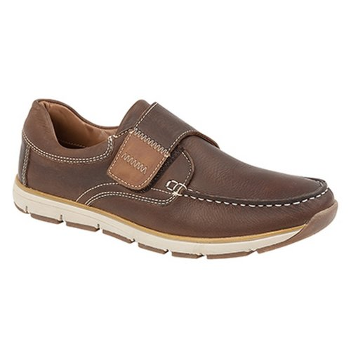 Roamers Superlight Mens Touch Fastening Moccasin Leisure Shoes