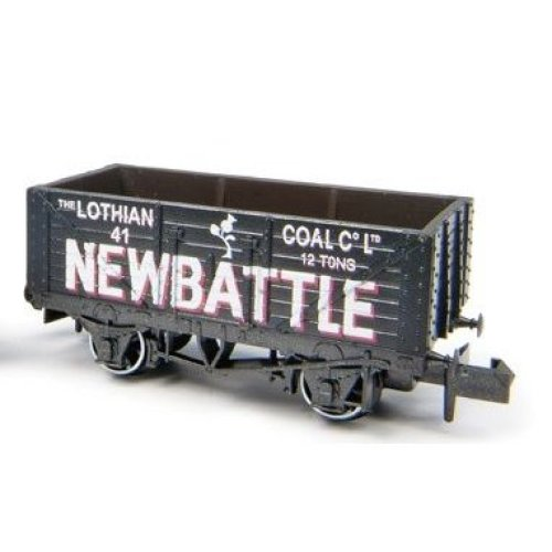 7 Plank Coal Wagon Newbattle 41 - N gauge wagon Peco NR-P422 free post