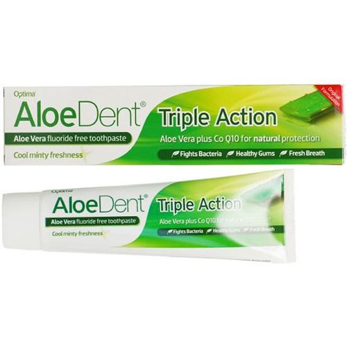 Aloe Dent Original Aloe Vera Toothpaste + Co Q10 -mint 100ml