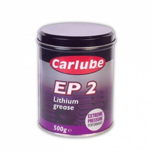 2 x Carlube XGE500 EP2 Lithium Grease 500g