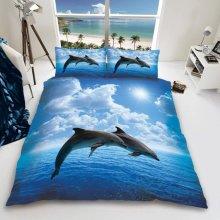 Dolphin Duvet Cover Set