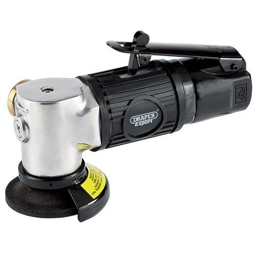 Draper 47570 Expert 50mm Compact Soft Grip Air Angle Grinder Kit