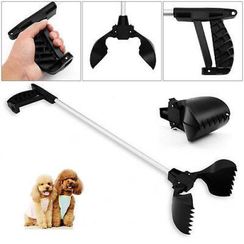 POOP SCOOP GRABBER LIGHTWEIGHT PET POOPER SCOOPER DOG HYGIENE USE WITH A BAG NEW