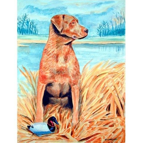 Chesapeake Bay Retriever Flag - Garden Size, 11 x 15 in.