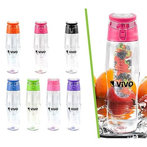Flip-Top Infusion Water Bottle 700ml