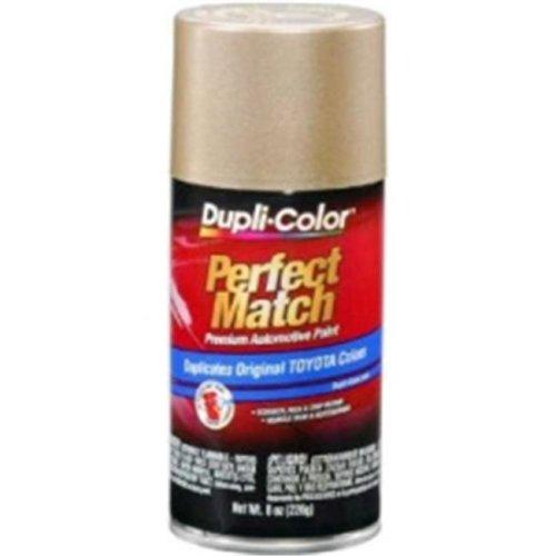 Krylon BTY1596 8 oz Perfect Match Automotive Paint, Toyota Cashmere Beige Metallic