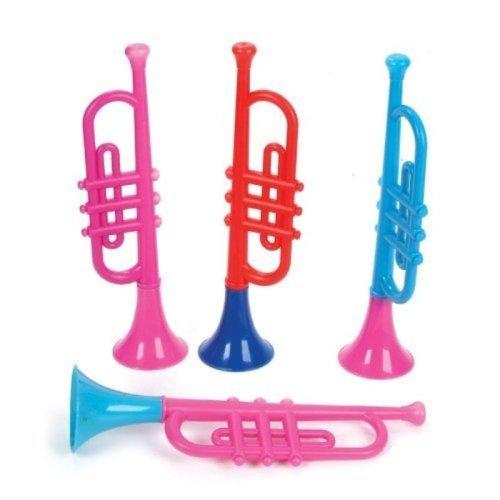 Kids Plastic Trumpets (1 dz)