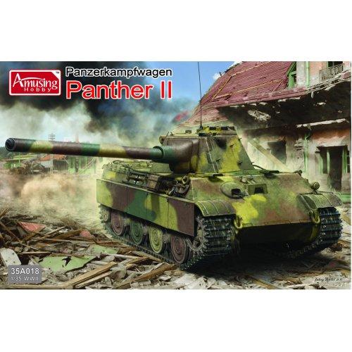 1:35 Panzerkampfwagen Panther II Military Model Kit