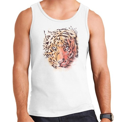 Geometric Tiger Men's Vest