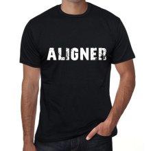 aligner Mens Vintage T shirt Black Birthday Gift 00555