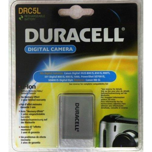 Duracell Digital Camera Battery 3.7v 820mAh Lithium-Ion (Li-Ion) 820mAh 3.7V rechargeable battery
