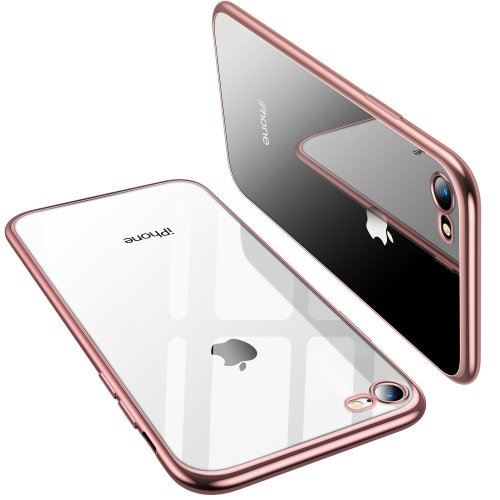 cheaper e39bd 2036c TORRAS iPhone 8 Case, iPhone 7 Case, Ultra Thin Slim Crystal Clear Case  with Stylish Edge Soft Silicone TPU Gel Bumper Case Cover for iPhone 7/...