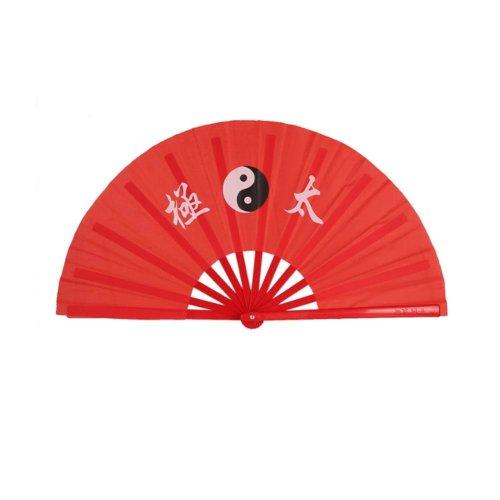 Chinese Kung Fu Tai Chi Hand Folding Fan for Men/Women Set of 2