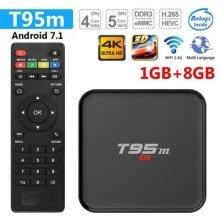 Greatlizard T95M TV Box Android 7.1 1GB/8GB HD 4K WiFi & LAN VP9 DLNA H.265