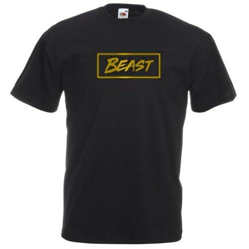 Mr Beast Gold Logo 2 Kids T-shirt