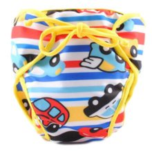 Reusable Swim Diaper Adjustable Absorbent Shower Diapers for Baby Toddler, A26