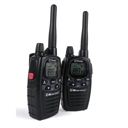 Midland C1090-G7 Pro Walkie-Talkie Black