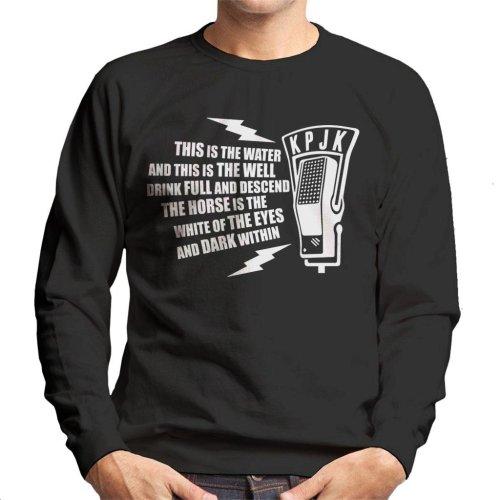 This is The Water Quote Twin Peaks Men's Sweatshirt