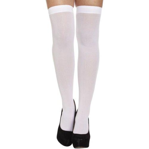 White Hold-Up Stockings