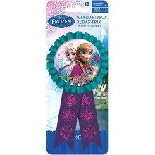 Frozen Confetti Award Ribbon  - 15cm x 7.6cm -