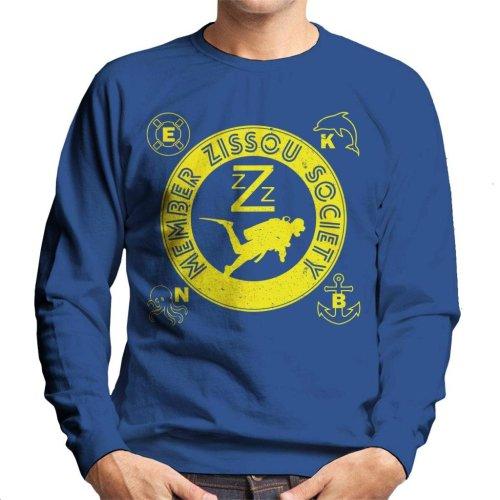 Life Aquatic Inspired Zissou Society Men's Sweatshirt
