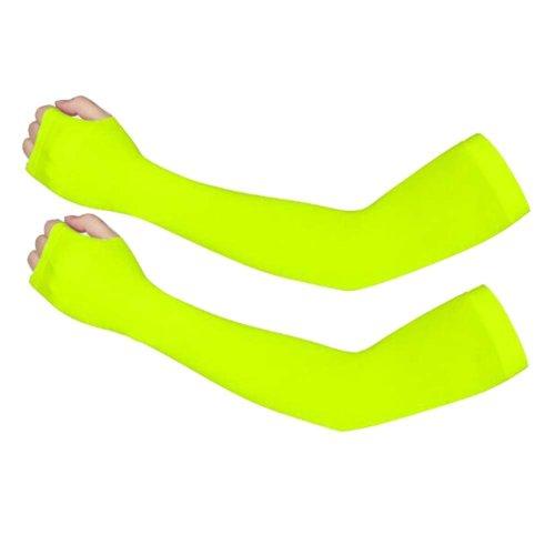 Half Finger Ice Sleeve,Sun Protection,Summer Elastic Arm Sleeve,Riding,#11