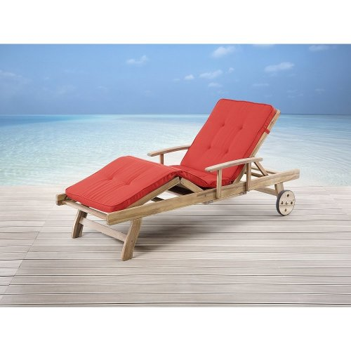Garden Cushion - Bench Pad - Light Terracotta - for Lounger TOSCANA, JAVA