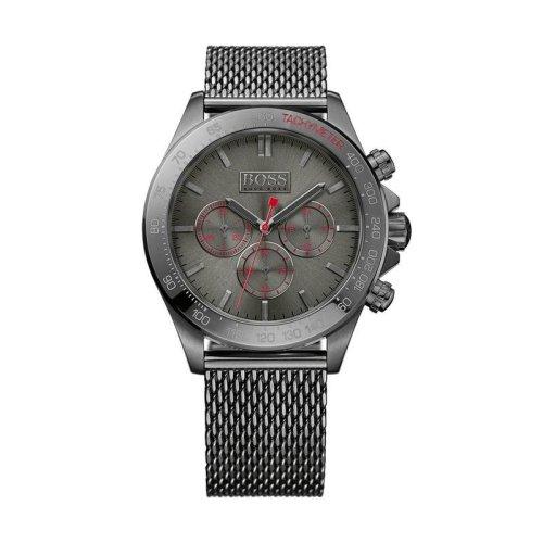 Hugo Boss 1513443 Mens Grey Chronograph Stainless Steel Watch