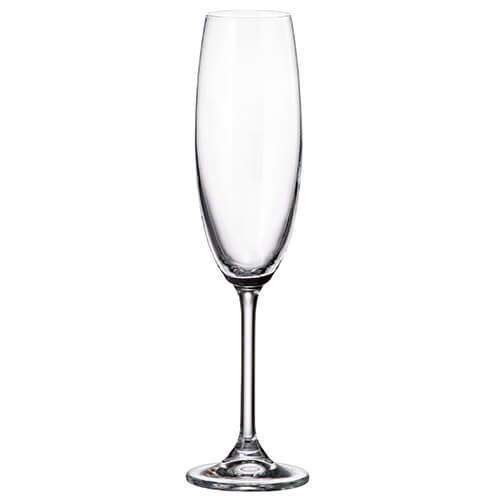 Durobor Crystalite Bohemia Colibri Set Of 6 Flute Glasses