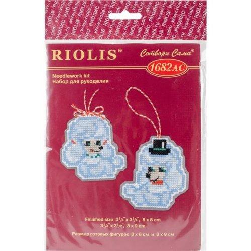 Riolis R1682AC 3.25 x 3.5 in. Plastic Canvas Kit