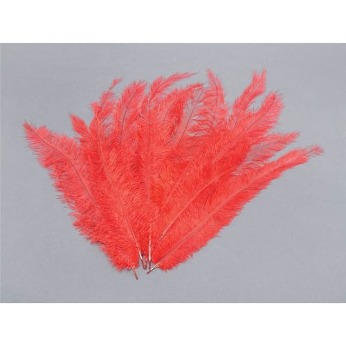 Blondine Feather. Red 12/pkt.